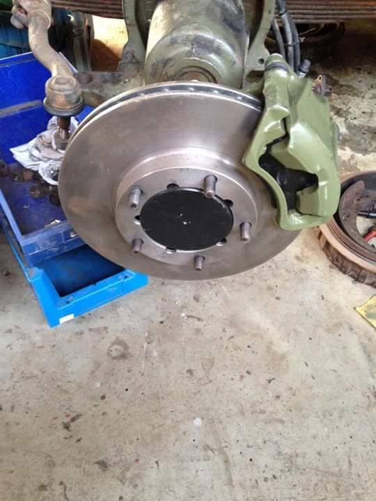 Kamo Oko Vidi 4x4 industries Volvo disc brake conversion