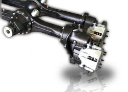 Portal axles with performance parts