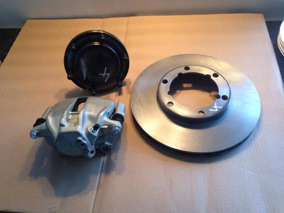 Kamo Oko Vidi 4x4 industries Volvo disc brake conversion