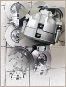 Volvo C304 disk brake set