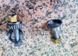Volvo C303 KING PIN WITH BEARINGS (set for axle)